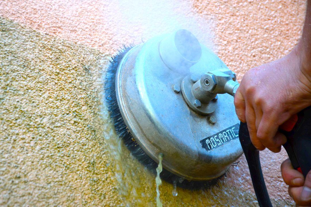 Mytí fasád